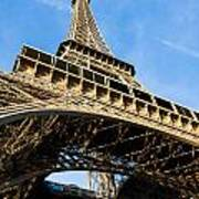 Up The Eiffel Tower 1 Art Print
