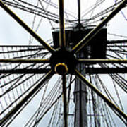 Up The Rigging Art Print