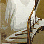 Up The Staircase Art Print