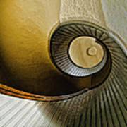 Up The Stairway Art Print