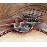Upc Trapeze Art Print