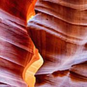 Upper Antelope Canyon Art Print by Robert Jensen
