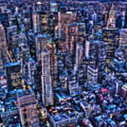 Upper East Side Skyline Art Print