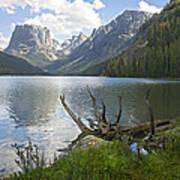 Upper Green River Lake Art Print