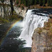 Upper Mesa Falls Idaho Art Print