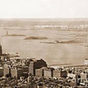 Upper New York Bay Vintage Art Print