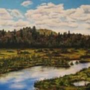 Upper Sacandaga River Art Print