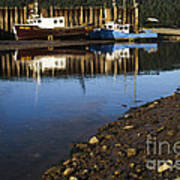 Upper Salmon River Art Print
