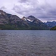 Upper Waterton Lake Art Print