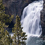 Upper Yellowstone Falls Art Print