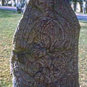 Uppsala Runestone Art Print