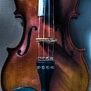 Upright Violin - Cool Art Print