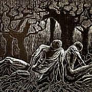 Uprooted Art Print by Maria Arango Diener