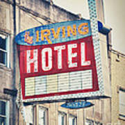 Chicago's Irving Hotel Art Print