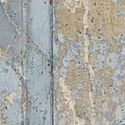 Urban Abstract Concrete 3 Art Print