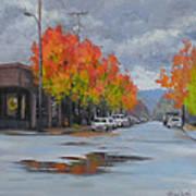 Urban Autumn Art Print