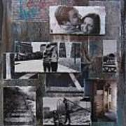 Urban Decay Engagement Collage Art Print