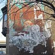 Urban Decay Mural Wall 4 Art Print