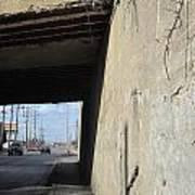 Urban Decay Train Bridge 2 Art Print