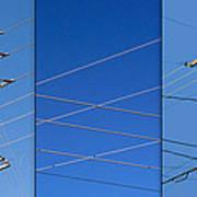 Urban Electric Art Print