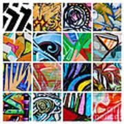 Urban Street Art Art Print