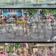 Urbanatomy - Flow Art Print