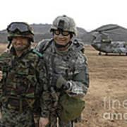 U.s. Army Commander, Right Art Print