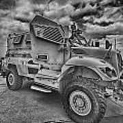 Us Army Troop Carrier Art Print