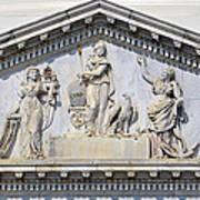 Us Capitol Building Facade Art Print