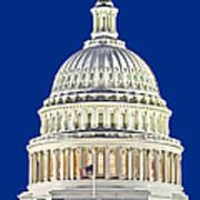 Us Capitol Dome Art Print
