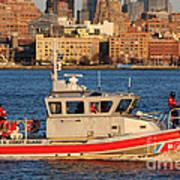 U.s. Coast Guard - Always Ready Art Print