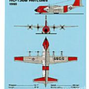 Coast Guard Hc-130 B Hercules Art Print