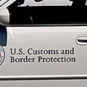 U.s. Customs And Border Protection Art Print