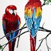 Us Friends  Art Print