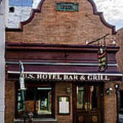 Us Hotel Bar And Grill - Manayunk  Art Print