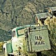 Us Mail Art Print