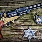 Us Marshall - American Justice - Cowboy Art Print