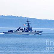 U.s. Navy Ship Art Print