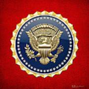 Presidential Service Badge - P S B Art Print