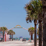 Usa, Florida, New Smyrna Beach, Flagler Art Print