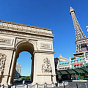 Usa, Nevada, Las Vegas, Paris Las Vegas Art Print