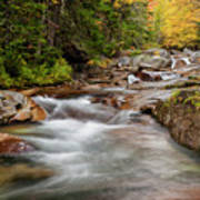 Usa, New Hampshire, White Mountains Art Print
