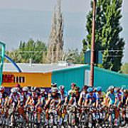 Usa Pro Challenge Bike Race Montrose Colorado Art Print