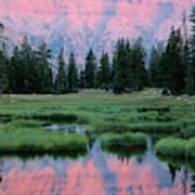 Usa, Utah, High Uintas Wilderness Art Print