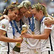 Usa V Japan Final - Fifa Womens World Art Print