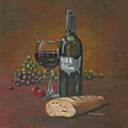 Usa Wine Art Print