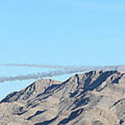 Usaf Thunderbirds Precision Flying Two Art Print