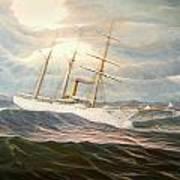 Uscgc Alexander Hamilton Art Print