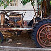 Used Tractor Art Print