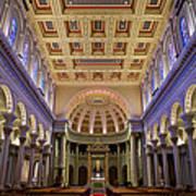 Usf Saint Ignatius Church In San Francisco Art Print